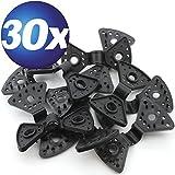 30 x Spezial Kunststoff-Clips für Planen uvm.