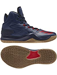 online store d6da9 db8a7 adidas D Rose Dominate IV, Scarpe da Basket Uomo, Blu (AzumisEscarl