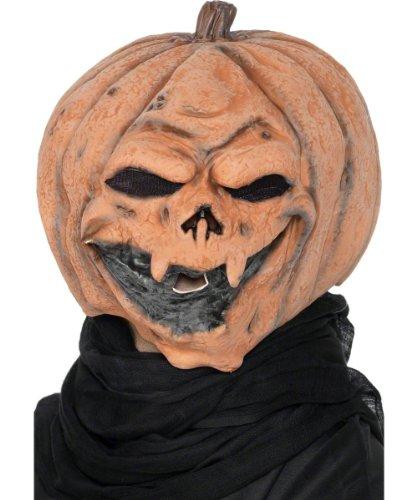 Maske zum Überziehen Halloween (Halloween Aussparungen Für Kürbisse)