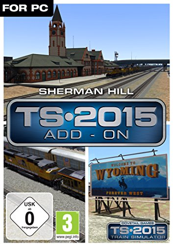 Train Simulator 2015 Sherman Hill