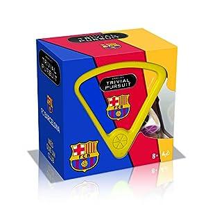 Winning Moves-10315 Trivial Pursuit FC Barcelona Edición Bite - Versión en castellano, Multicolor (610315)