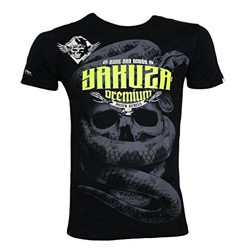 Yakuza Premium T-Shirt YPS 2404 schwarz