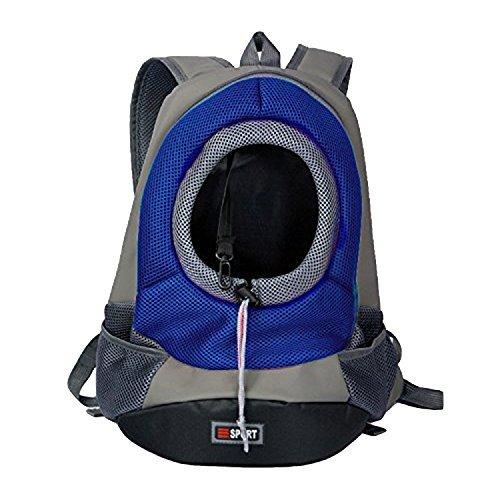 Imagen de orchidtent mejor durable cómodo tejido de malla head out diseño mascota cachorro perro frontal pack de bolsas  para portátil para perros pequeños para al aire libre viaje senderismo
