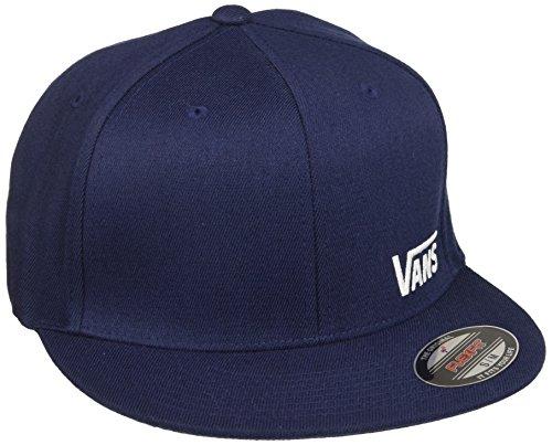 Vans Herren Baseball Cap Splitz, Blau (Dress Blues-White 5S2), Medium (Cap Serge)