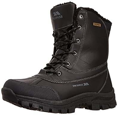 Trespass Mens Hikten Snow Boots MAFOBOJ20001 Black 7 UK, 41 EU