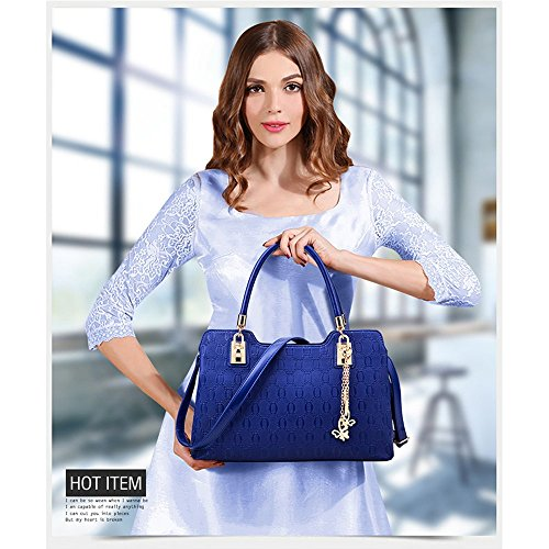 Anne, Borsa a spalla donna nero Black Blue