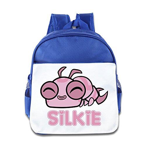 Teen Titans Go Silkie für Kinder Rucksack Pink Blau Königsblau Einheitsgröße