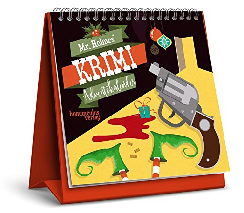 entskalender: 24 weihnachtliche Kriminalfälle zum Miträtseln ()