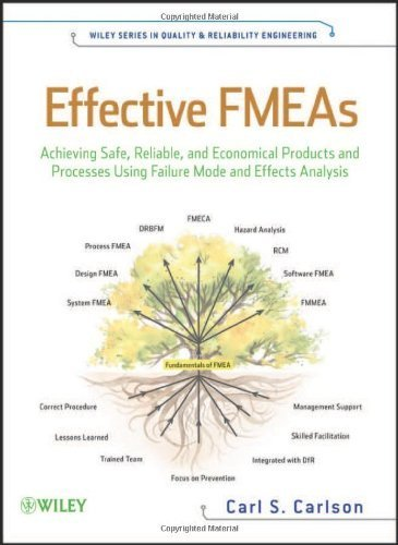 Effective FMEAs: Achieving Safe, Reliable, and Economical Products and Processes Using Failure Mode and Effects Analysis (Quality and Reliability Engineering Series) by Carl Carlson (2012-06-12)