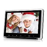 Pumpkin Ecran d'Appui tête Voiture Résolution 1024 * 600 Lecteur DVD Région Free avec Fontion HDMI Entrée USB SD FM et IR