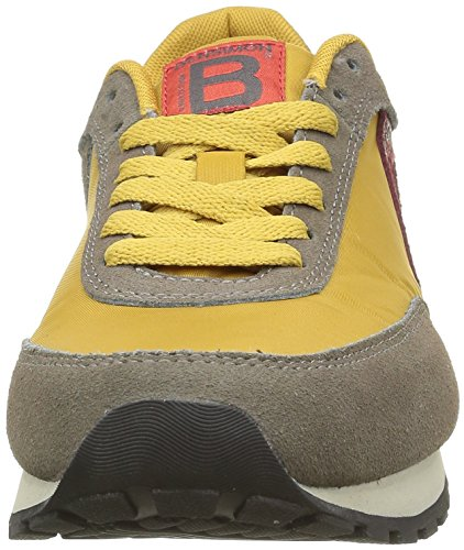 Bensimon F15258c818, Baskets Basses Femme Jaune (209 Jaune)