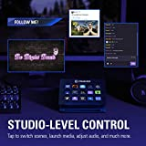 Corsair Elgato Stream Deck - Live Content Creation Controller with 15 Customizable LCD Keys, Adjustable Stand for Windows 10 and MacOS 10.13 or Later