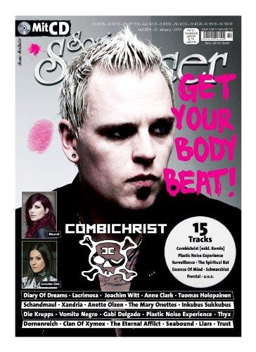 Sonic Seducer 04-14 mit Combichrist-Titelstory + CD mit 15 teilweise exklusiven Tracks, Bands: Schandmaul, Die Krupps, Joachim Witt, Diary Of Dreams, Anne Clark, Lacrimosa u.v.m.
