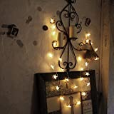 LED Lichterkette   InnooLight 3 Meter 30er LED Sterne Lichterketten Batteriebetrieben Warmweiß   Innen Beleuchtung Deko für Garten, Wohnungen, Tanzen, Hochzeit, Weihnachtsfeier usw.
