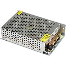 LEADSTAR 5V 10A 50W Fuente de Alimentación Conmutada AC-DC Transformador cConvertidor para la Vigilancia de Circuito Cerrado de Televisión Tira de LED Strip