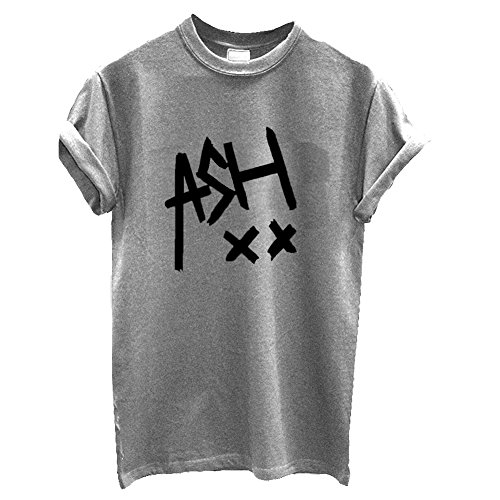 One Direction T-shirt unisexe «Ash» 5Seconds of Summer Tour - gris - M