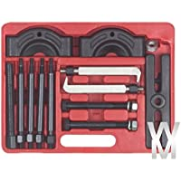 Kit coffret outils arrache-roulement extracteur moyeu engrenage pour atelier (14 pièces)