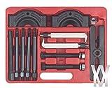 14pc Tirador Del Cojinete De Eje De Engranajes Seperator Divisor Kit Workshop Conjunto Herramientas 14 Pieza