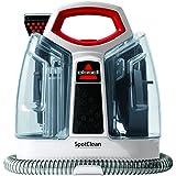 Bissell SpotClean - Aspiradora (tecnología heat wave), color rojo y blanco