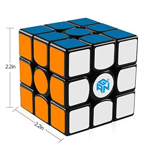 MOYU aolong V2 Cubo di velocità 3x3 EDIZIONE MIGLIORATA LISCIO Magic Cube Nero BEST £ £