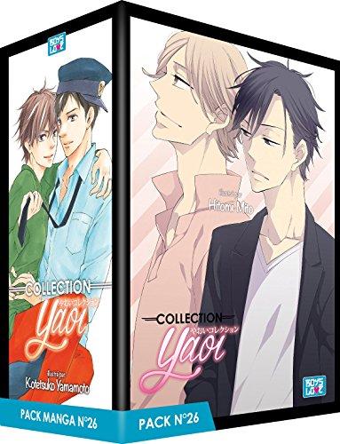 Pack Boy's Love - Partie 26 - 5 Mangas (Livres) - Yaoi par Kotetsuko Yamamoto