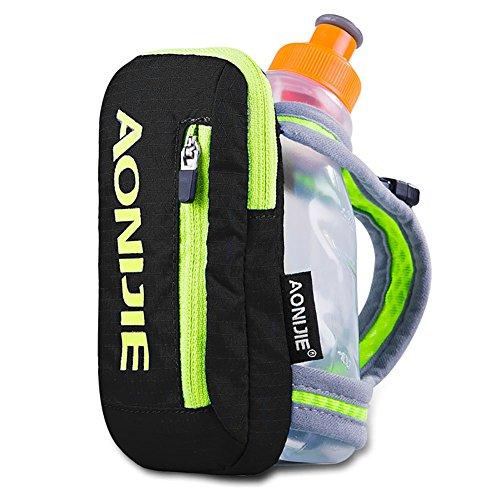 Zantec Handheld Hydration 8.82ozbottle Packung mit Flasche der Wasserkocher Paket passt Tasche passend für Smartphones -