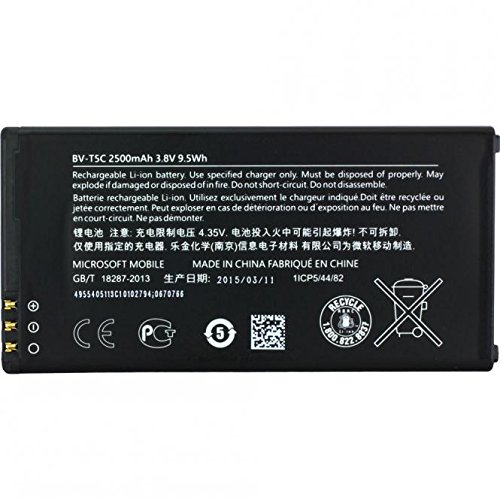 Akku Original Microsoft Lumia 640 BV-T5C 2500 mAh Battery