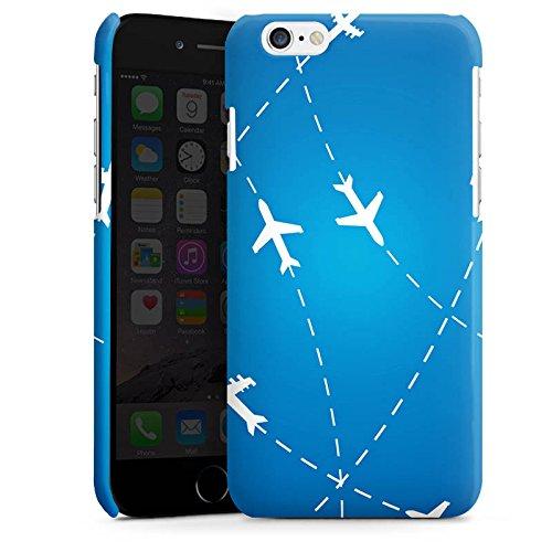 Apple iPhone 6 Housse Étui Silicone Coque Protection Avion Voyage Vacances Cas Premium brillant