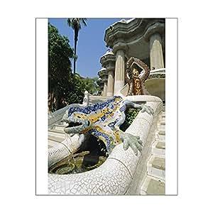 Imprimé photographique de lézard Par Gaudi Mozaic