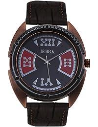 Horra Eco Series Red Dial Analog Watch For Men - HR717MLBKR81