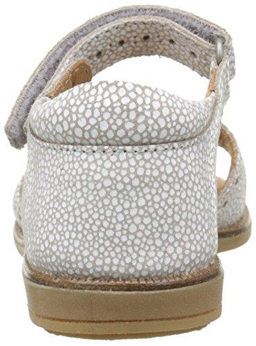 Bisgaard 70202116, Sandales Fille Blanc Cassé (76 Stone)