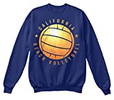 Bequemer Pullover Damen / Herren / Unisex - 2XL - California Beach Volleyball T-Shirt - Ba