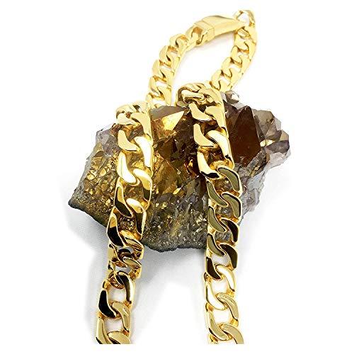 Lifetime Bling  -    24ct vergoldetes unedles Metall     Kein Stein  (Gold 24 Kette Karat)