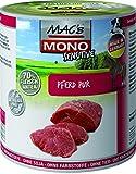 MACs Dog Mono Sensitive Pferd Pur | 6x 800g Hundefutter nass getreidefrei