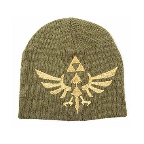 Zelda-Mtze-gewebtes-goldenes-Logo