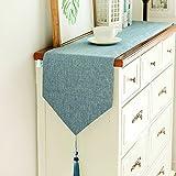 TABLE RUNNER Tischläufer Modern Minimalist American Strip für Couchtisch Esstisch Schuhschrank TV Cabinet Nordic (Farbe : A, Größe : 30 * 140cm)