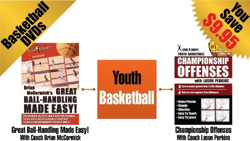 Youth Basketball - 2 Pack By Coaches Brian McCormick & Lason Perkins - Training DVDs by Basketball Coaching DVDs -