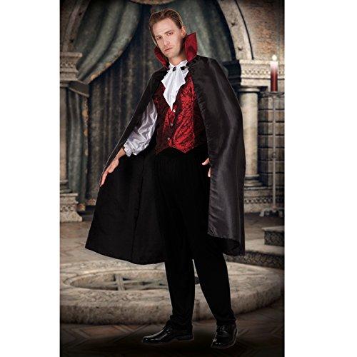 NEU Herren-Kostüm Gothic Vampir, Gr. 54-56