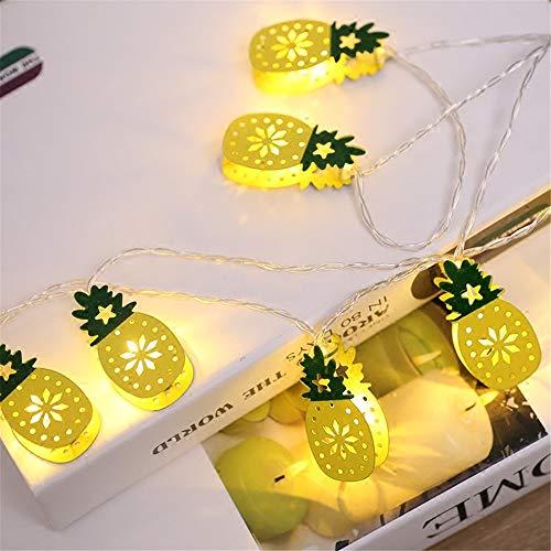 Fairy Lights Per Ananas All'Aperto, Stringhe Led Per Ananas, Metallo Impermeabile Per Decorazioni, Luci Per Matrimoni, Cortile, Matrimonio, Festa, Natale, Festiv