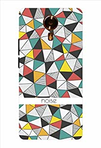 Noise Vintage Geometry Printed Cover for Micromax Canvas Xpress 2 E313