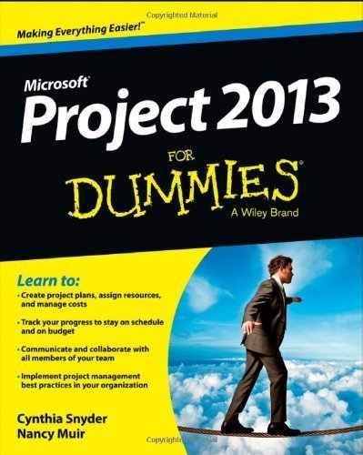 Project 2013 For Dummies 1st by Stackpole Snyder, Cynthia (2013) Paperback