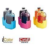 iColor Zubehör zu Druckertinte: Smart-Refill Tintentanks zu VM-1853, color (2x 3,5ml je Farbe)...