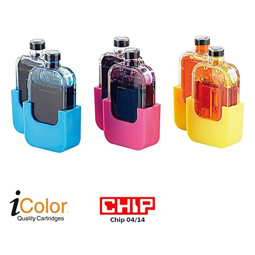 Color Refill-tinte (iColor Zubehör zu Refill-Kits für Canon: Smart-Refill Tintentanks zu VM-1853, color (2x 3,5ml je Farbe) (Nachfüll-Tinten für Tintentanks))
