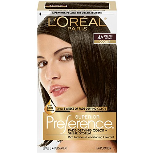 L'Oreal Paris Superior Preference Color Care System Dunkles Aschbraun