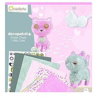 Avenue Mandarine Decopatch Creative box, Cats kit