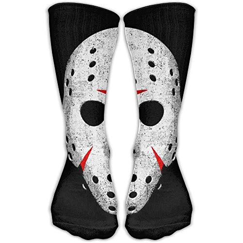 Unisex Horror Movie Maniac Socks Over The Knee 20-30mmHg Graduated Compression Best For Medical Nursing Casuel Hiking Travel & Flight Beautiful Present