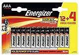 Energizer e30012570316Stück Akkus AAA Chrom