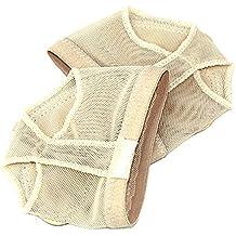 SODIAL (R) dedos de ballet para Professional Belly/Pad de práctica zapatos pie Tanga Protección Dance Calcetines polainas de disfraz accesorios M