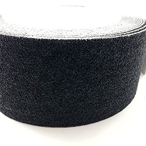 25mm x 1 Meters, BLACK HIGH GRIP ANTI SLIP TAPE ADHESIVE BACKED NON SLIP TAPE