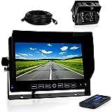 Pyle Truck Dash Cam DVR Video Camera HD Recording 7 Display Monitor Plcmtrdvr41